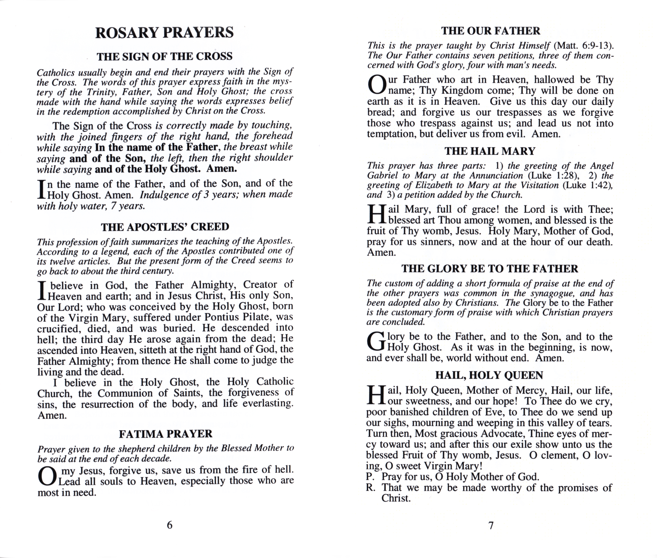 It's just a graphic of Agile How to Pray the Catholic Rosary Printable