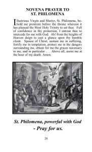pg20 St. Philomena